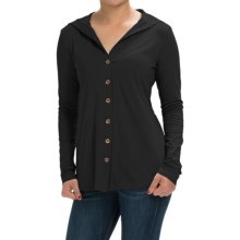Aventura Clothing Luna Sweater - Organic Cotton Blend (For Women) in Black - Closeouts