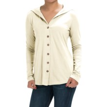 Aventura Clothing Luna Sweater - Organic Cotton Blend (For Women) in Whisper White - Closeouts