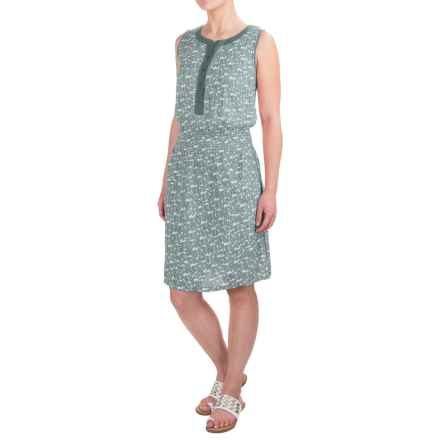 Aventura Clothing Lyric Dress - Sleeveless (For Women) in Turquoise - Closeouts