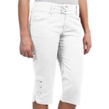 Aventura Clothing Mackenzie Capris - Organic Cotton Blend (For Women) in White - Closeouts