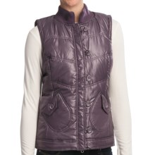 Aventura Clothing Maddie Vest - Metallic Finish (For Women) in Purple - Closeouts