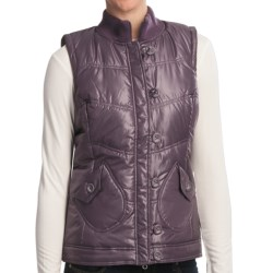Aventura Clothing Maddie Vest - Metallic Finish (For Women) in Steel Grey