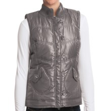 Aventura Clothing Maddie Vest - Metallic Finish (For Women) in Steel Grey - Closeouts