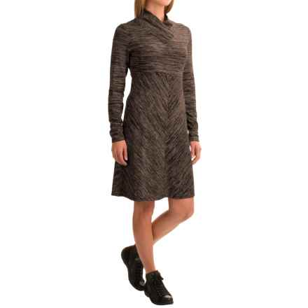 Aventura Clothing Maeve Space-Dye Dress - Long Sleeve (For Women) in Walnut - Closeouts