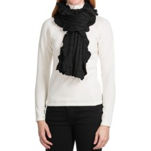 Aventura Clothing Marcella Scarf (For Women) in Black - Closeouts