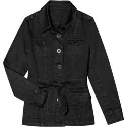 Aventura Clothing Mariah Jacket - Stretch Organic Cotton (For Women) in Kelp