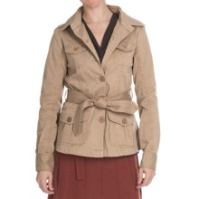 Aventura Clothing Mariah Jacket - Stretch Organic Cotton (For Women) in Kelp - Closeouts