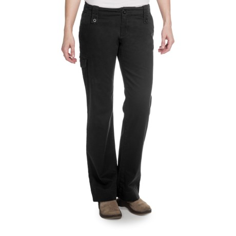 Aventura Clothing Mariah Pants - Stretch Organic Cotton (For Women) in Black
