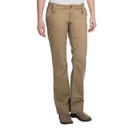 Aventura Clothing Mariah Pants - Stretch Organic Cotton (For Women) in Kelp