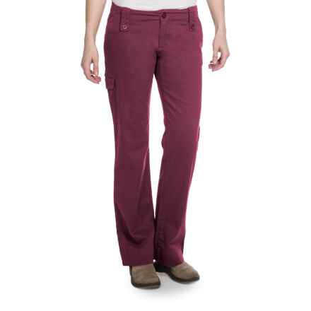 Aventura Clothing Mariah Pants - Stretch Organic Cotton (For Women) in Merlot - Closeouts