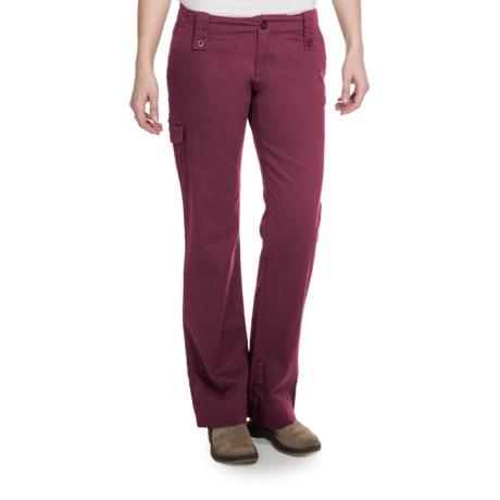 Aventura Clothing Mariah Pants - Stretch Organic Cotton (For Women) in Merlot