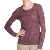 Aventura Clothing Maribel Burnout Thermal Shirt - Long Sleeve (For Women)