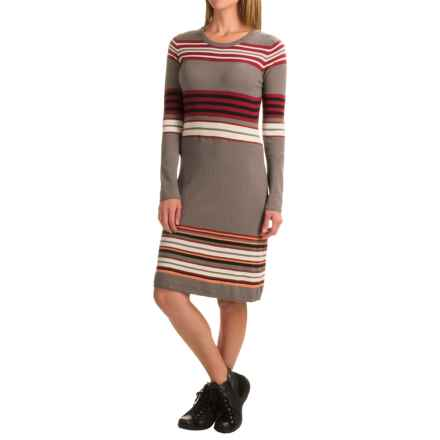 Aventura Clothing Martina Sweater Dress - Long Sleeve (For Women) in Heathered Grey - Closeouts