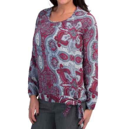 Aventura Clothing Maxine Shirt - Long Sleeve (For Women) in Beaujolais - Closeouts