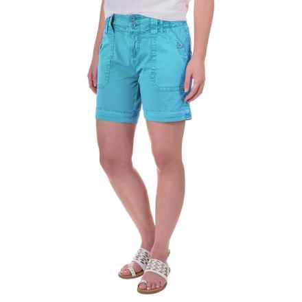 Aventura Clothing Mayson Shorts - Organic Cotton (For Women) in Caneel Bay - Closeouts