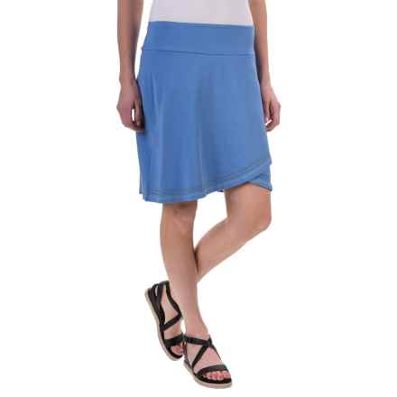 Aventura Clothing Meg Skirt - Organic Cotton-Modal (For Women) in Blue Yonder - Closeouts