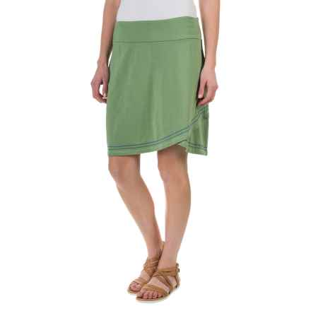 Aventura Clothing Meg Skirt - Organic Cotton-Modal (For Women) in Turf Green - Closeouts