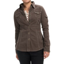 Aventura Clothing Millbrae Jacket - Organic Cotton, Snap Front (For Women) in Black Olive - Closeouts