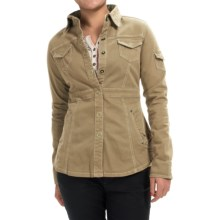 Aventura Clothing Millbrae Jacket - Organic Cotton, Snap Front (For Women) in Kelp - Closeouts