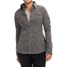 Aventura Clothing Millbrae Jacket - Organic Cotton, Snap Front (For Women) in Smoked Pearl - Closeouts