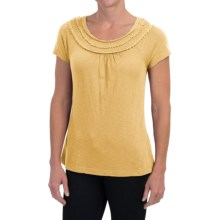 Aventura Clothing Minnie Shirt - Organic Cotton-Modal, Short Sleeve (For Women) in Chamomile - Closeouts