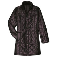 Aventura Clothing Morgan Car Coat - Insulated (For Women) in Pinot - Closeouts