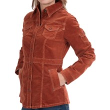Aventura Clothing Morgan Corduroy Jacket - Stretch Cotton (For Women) in Picante - Closeouts