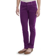 Aventura Clothing Morgan Corduroy Pants - Organic Cotton (For Women) in Plum Purple - Closeouts