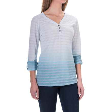 Aventura Clothing Neema Hoodie Shirt - Long Sleeve (For Women) in Tradewinds - Closeouts