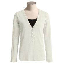 Aventura Clothing Neve Shirt - Long Sleeve (For Women) in Whisper White - Closeouts