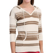Aventura Clothing Newberry Sweater - V-Neck, 3/4 Sleeve (For Women) in Hemp - Closeouts