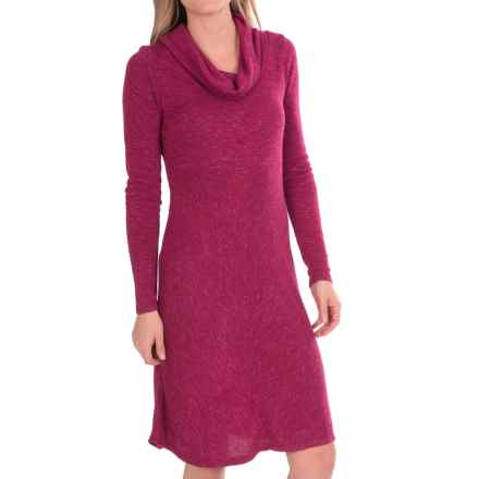 Aventura Clothing Orly Dress - Long Sleeve (For Women) in Beaujolais - Closeouts
