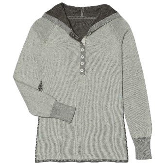 Aventura Clothing Overton Hoodie Sweater - Organic Cotton (For Women) in Icy Green