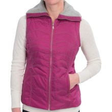 Aventura Clothing Owen Vest - Sherpa Detail (For Women) in Magenta Haze - Closeouts