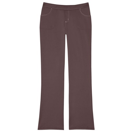 Aventura Clothing Pacey Pants - Stretch, Recycled Materials (For Women) in Pinot