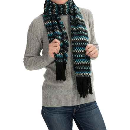 Aventura Clothing Palencia Scarf (For Women) in Turquoise - Closeouts
