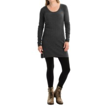 Aventura Clothing Palermo Tunic Sweater - Organic Cotton-Modal (For Women) in Black - Closeouts