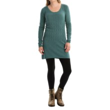 Aventura Clothing Palermo Tunic Sweater - Organic Cotton-Modal (For Women) in Blue Spruce - Closeouts