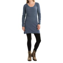 Aventura Clothing Palermo Tunic Sweater - Organic Cotton-Modal (For Women) in Grisaille - Closeouts