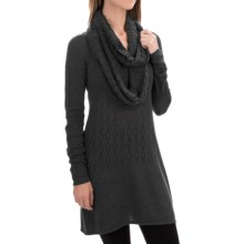 Aventura Clothing Palermo Tunic Sweater - Organic Cotton, Scoop Neck (For Women) in Black - Closeouts