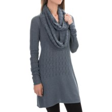 Aventura Clothing Palermo Tunic Sweater - Organic Cotton, Scoop Neck (For Women) in Grisaille - Closeouts