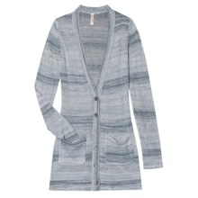 Aventura Clothing Paloma Cardigan Sweater - V-Neck (For Women) in Lead - Closeouts