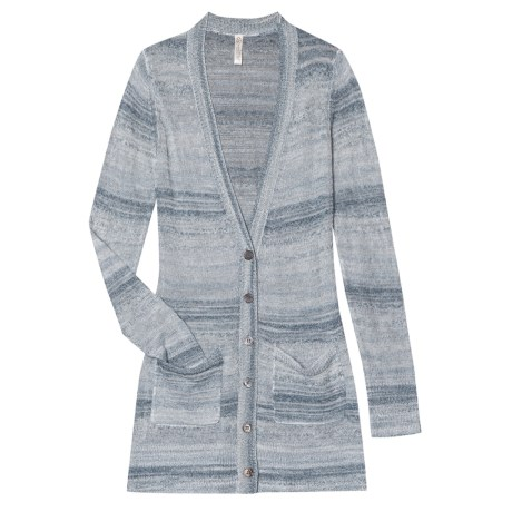 Aventura Clothing Paloma Cardigan Sweater - V-Neck (For Women) in Lead