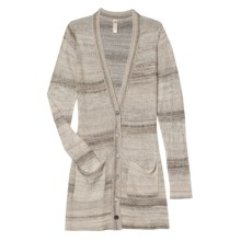 Aventura Clothing Paloma Cardigan Sweater - V-Neck (For Women) in Taupe - Closeouts