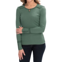 Aventura Clothing Paxton Shirt - Long Sleeve (For Women) in Blue Spruce - Closeouts