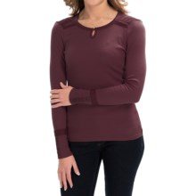 Aventura Clothing Paxton Shirt - Long Sleeve (For Women) in Winetasting - Closeouts