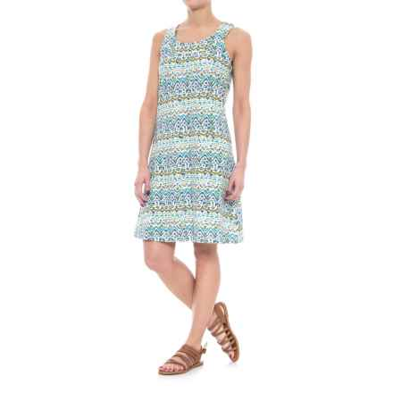 Aventura Clothing Pearson Dress - Organic Cotton, Sleeveless (For Women) in Viridian Green - Closeouts