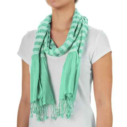 Aventura Clothing Penn Striped Scarf (For Women) in Holiday - Closeouts