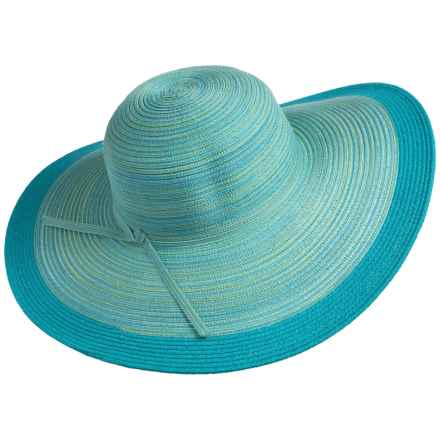 Aventura Clothing Phoebe Sun Hat (For Women) in Turquoise - Closeouts