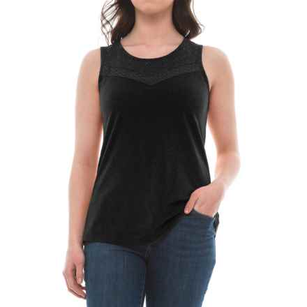 Aventura Clothing Pilar Tank Top - Organic Cotton-Modal (For Women) in Black - Closeouts